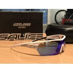 GAFAS SALICE 006 BLANCO/AZUL