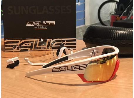 GAFAS SALICE 016 BLANCO/ROJO