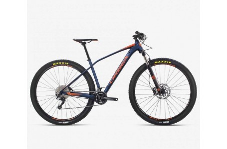 BICICLETA ORBEA ALMA H50 2019 AZUL NARANJA