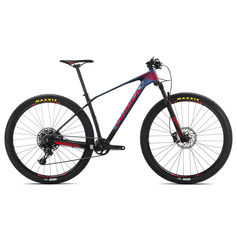 BICICLETA ORBEA ALMA M50 EAGLE 2019 AZUL ROJO