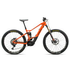 ORBEA WILD FS M-TEAM 2020 NARANJA BICICLETA ELECTRICA DOBLE SUSPENSION DE CARBONO