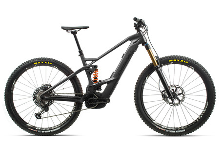 ORBEA WILD FS M-LTD 2020 ANTRACITA BICI ELECTRICA DOBLE DE CARBONO