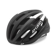 CASCO FORAY GIRO NEGRO BLANCO MATE