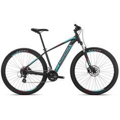 BICICLETA ORBEA MX 50 2019 NEGRO TURQUESA ROJO