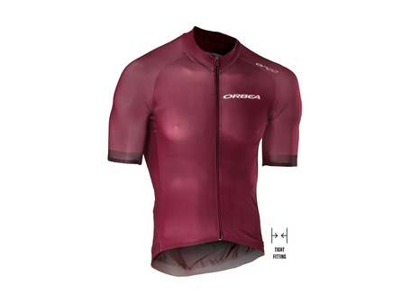 MAILLOT ORBEA SS RS1 ROJO VINO
