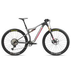 BICICLETA ORBEA OIZ M-PRO TR 2021 ANTRACITA GLITTER/CORAL