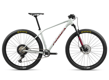 ORBEA ALMA H30 2021 Bicicleta MTB Aluminio BLANCO/ROJO