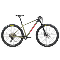 ORBEA ALMA M30 2021 GREEN SAVAGE/BRIGHT RED