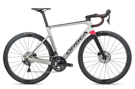 BICICLETA ORBEA ORCA M20 LTD 2021 GRIS/BRIGHT RED