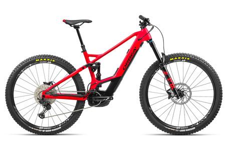 ORBEA WILD FS H20 2021 Bicicleta Eléctrica Doble Suspensión ROJO