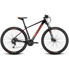 BICICLETA CONWAY MS 529 2021 NEGRO ROJO