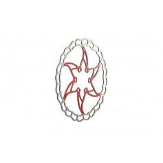 Disco de freno Ashima Ai2 Rojo