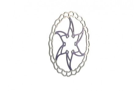 Disco de freno Ashima Ai2 Azul